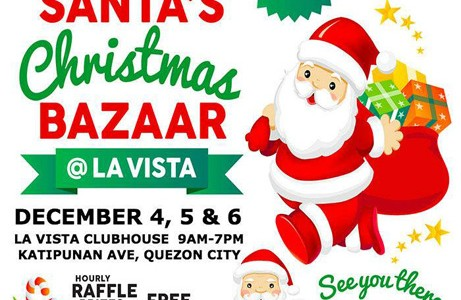 Santa's Christmas Bazaar at La Vista QC
