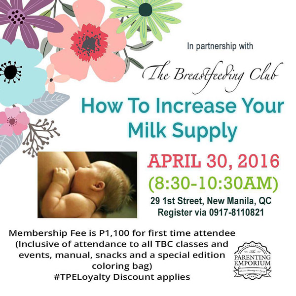 increase milk supply